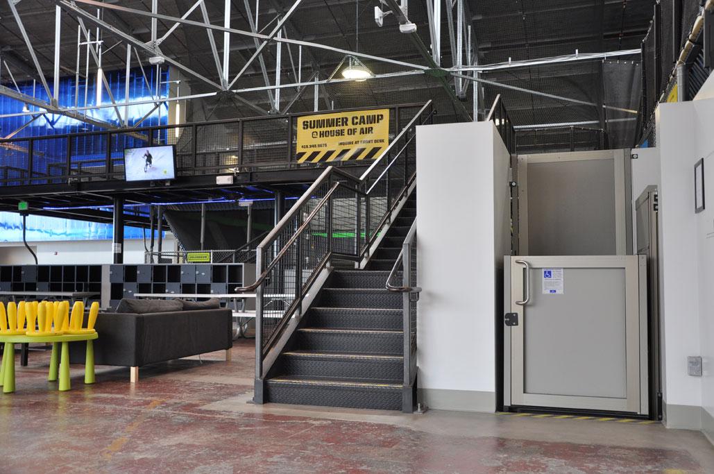 Vertical Platform Lift : Pacific access elevator lifts vertical