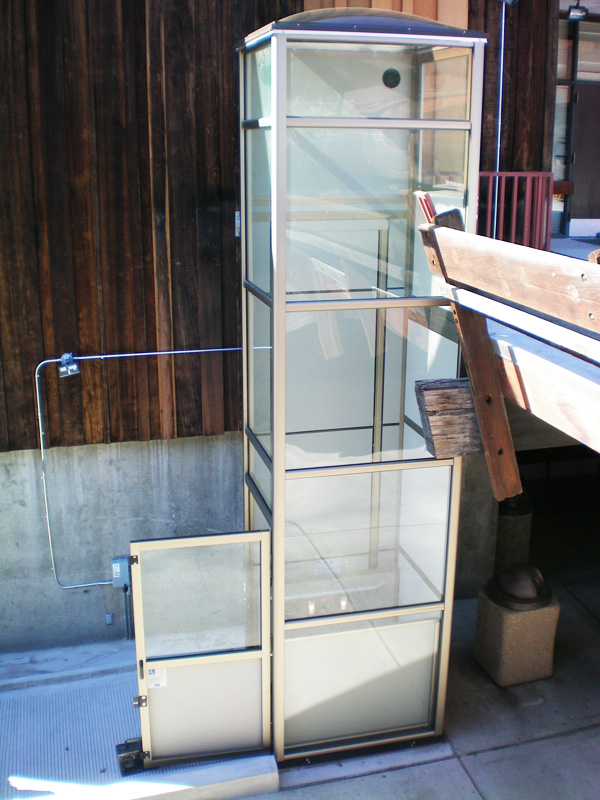 Home products inclined platform wheelchair lifts inclined - Pacific Access Elevator Elevator Lifts Vertical